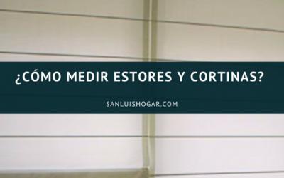 COMO MEDIR ESTORES Y CORTINAS