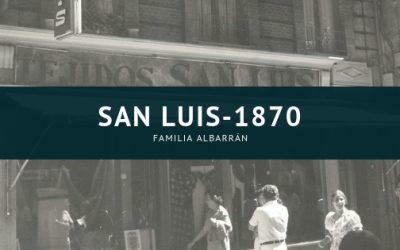 San Luis desde 1870