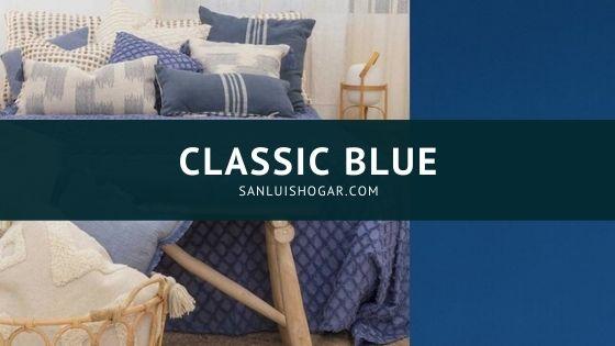 Classic Blue el color del año 2020